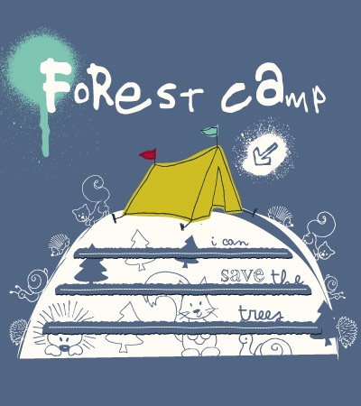Forest-camp