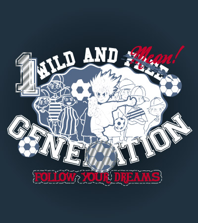 Generation-football-cute-vector