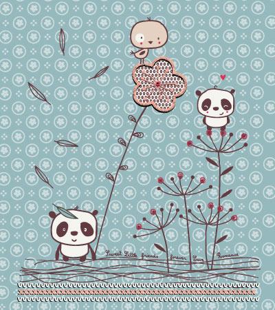 Cute-panda-vector