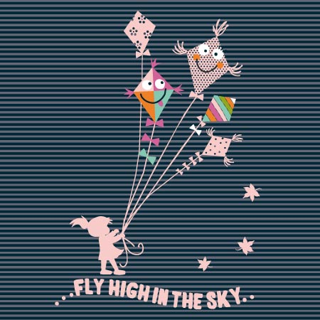 Cute-kite-vector