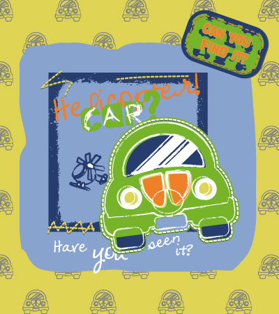 Green-car-fashion-design-vector