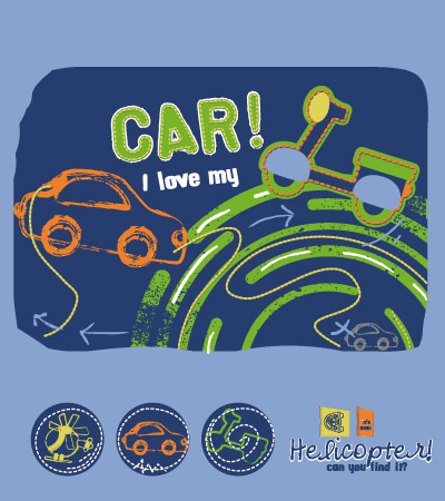 Love-my-car-fashion-design-vector