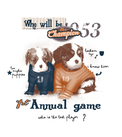 Annual-game-cute-dog-vector-t-shirt-design