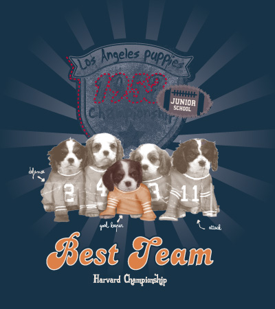 Best-team-cute-dog-vector-t-shirt-design