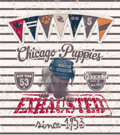 Chicago-puppies-cute-dog-vector-t-shirt-design