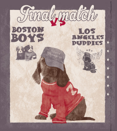 Final-match-cute-dog-vector-t-shirt-design