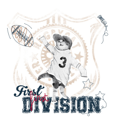 First-division-cat-dog-vector-t-shirt-design