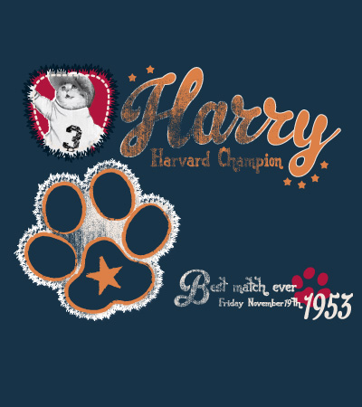 Harry-cute-dog-cat-vector-t-shirt-design