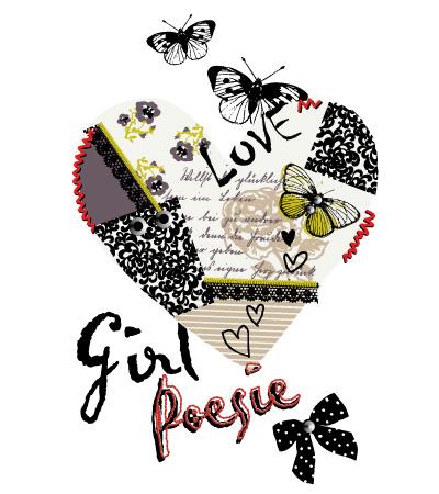 Heart-love-baby-girl-textile-art-春夏童装设计手稿