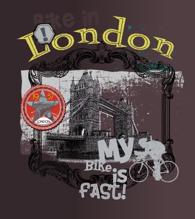 bike-is-fast-illustration-art-for children-clothes