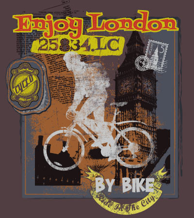 cyclo-enjoy-london-illustration-art-for-children-clothes