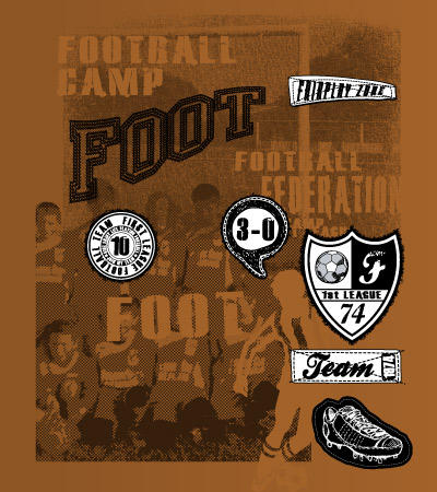 Team-football-design-for-children-clothing