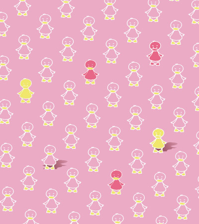 Pink-pattern-ducks-clothes-for-girls