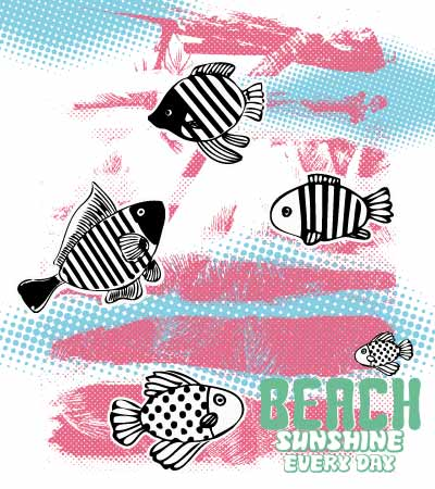 Allover-fish-print-fashion-illustration