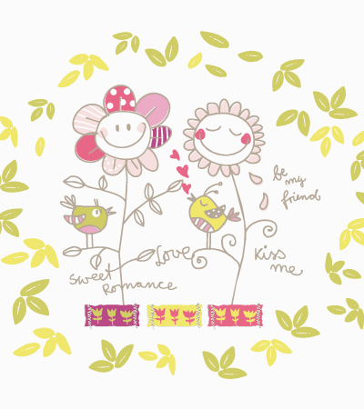 Fashion-flowers-vector-for-kidswear