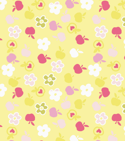 Flowers-and-apples-seamless-pattern