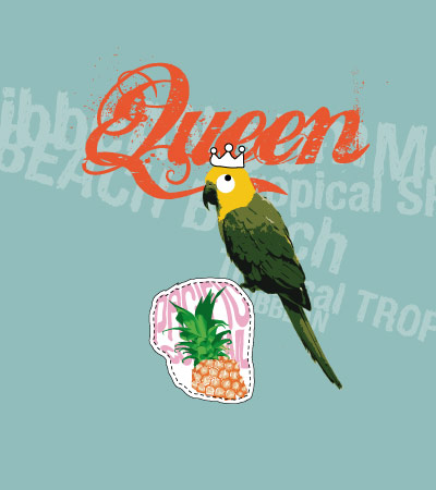 Queen-parrot-girl-fashion-illustration