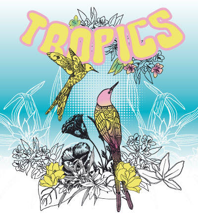 Tropics-bird-print-fashion-illustration