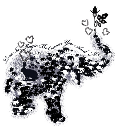 silhouette-elephant-fashion-design-studio