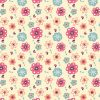 Beautiful-pattern-vector-flowers-baby-clothing