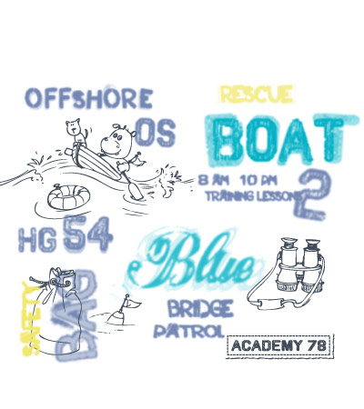 Boat-offshore-hippo-art-for-baby-clothing