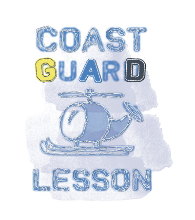 Coast-guard-lesson-art-for-baby-clothing