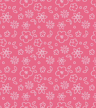 Pattern Linear Vector Flowers Kidsfashionvector Cute Vector Art Enchanting Baby Pattern