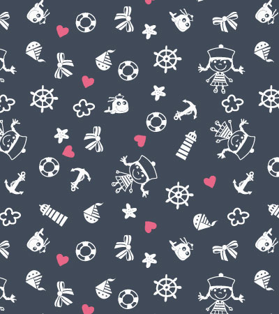 Pattern-vector-sailing-baby-girl
