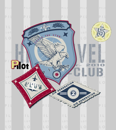 Set-pilot-patches-kids-fashion-trends