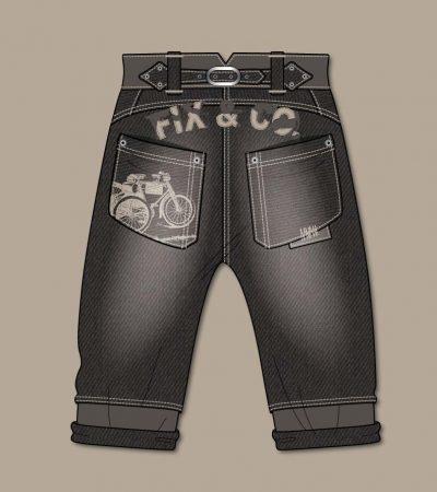Trousers-Jeans-flat-sketch-boy