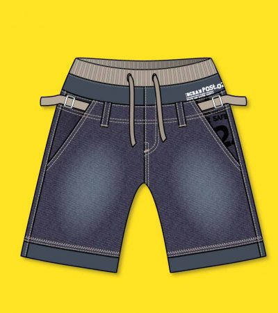 Short-jeans-flat-with-vector-design