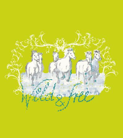 wild-horses-vector