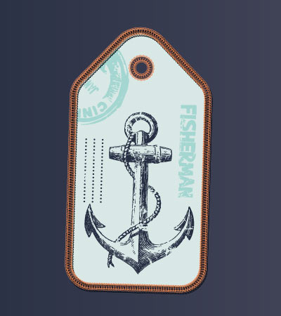 Anchor-sailing-vector-design