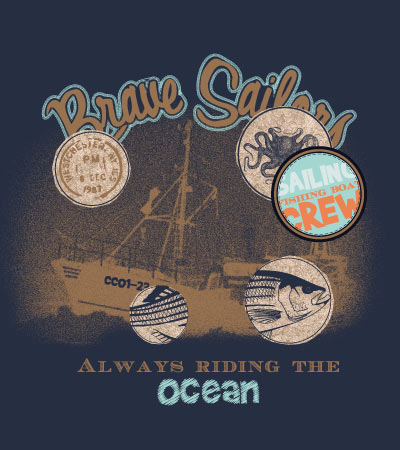 Brave-sailors-vector-design