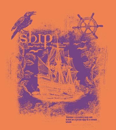 beautiful-ship-pirate-vector-kids-tshirt-design