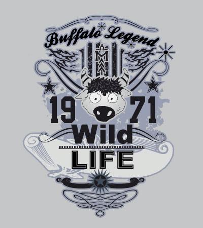 buffalo-legend-western-illustration