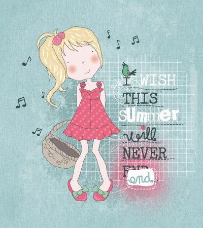 cute-girl-fruits-garden-illustration