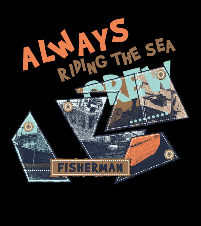 fisherman-sailing-vector-design