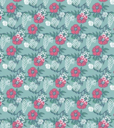 flower-fruits-pattern-illustration
