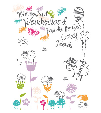 paradise-allover-cute-vector-illustration
