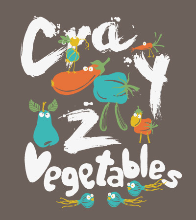 Crazy-cute-vector-vegetables
