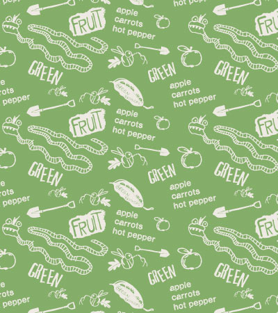 Seamless-pattern-Green-cute-vector-vegetables