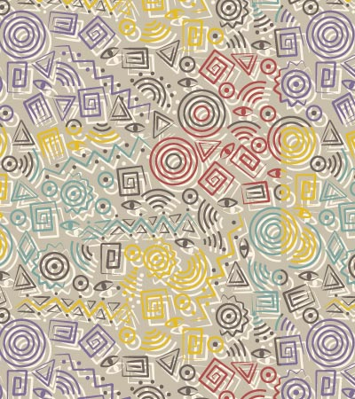 Tribal-pattern-baby-illustration