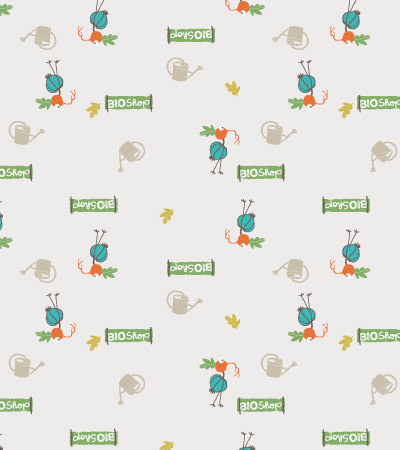 Vector-vegetables-pattern