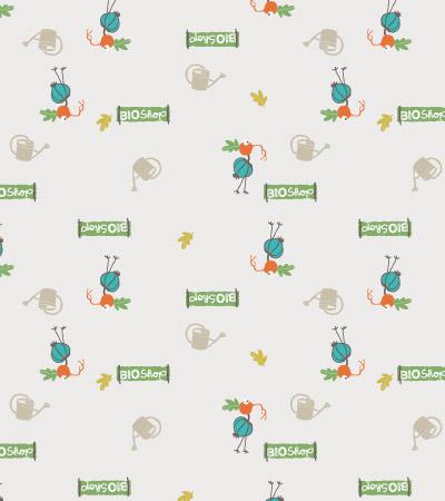 Vector-vegetables-pattern