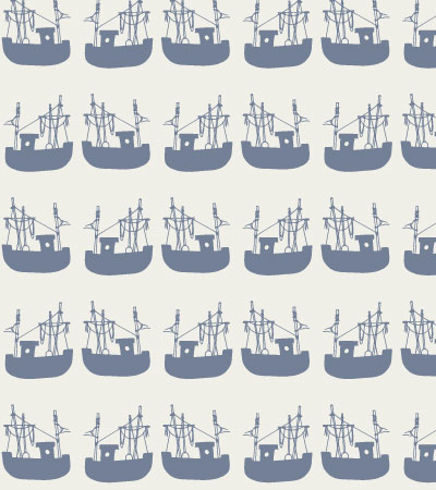vector-pattern-bed-linen-boat