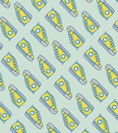 vector-football-sneaker-pattern
