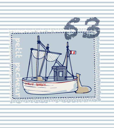 cute-vector-boat-on-patch